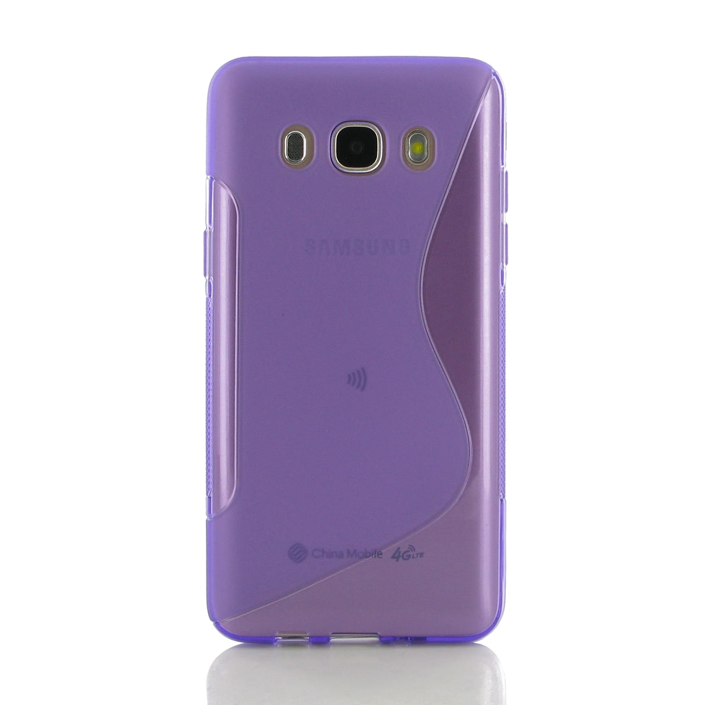 10% OFF + FREE SHIPPING, Buy Best PDair Top Quality Protective Samsung Galaxy J5 2016 Soft Case (Purple S Shape pattern) online. You also can go to the customizer to create your own stylish leather case if looking for additional colors, patterns and types