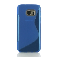 10% OFF + FREE SHIPPING, Buy Best PDair Top Quality Protective Samsung Galaxy S7 Soft Case (Blue S Shape pattern) online. You also can go to the customizer to create your own stylish leather case if looking for additional colors, patterns and types.