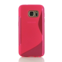 10% OFF + FREE SHIPPING, Buy Best PDair Top Quality Protective Samsung Galaxy S7 Soft Case (Pink S Shape pattern) online. You also can go to the customizer to create your own stylish leather case if looking for additional colors, patterns and types.