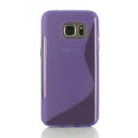 10% OFF + FREE SHIPPING, Buy Best PDair Top Quality Protective Samsung Galaxy S7 Soft Case (Purple S Shape pattern) online. You also can go to the customizer to create your own stylish leather case if looking for additional colors, patterns and types.