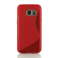 10% OFF + FREE SHIPPING, Buy Best PDair Top Quality Protective Samsung Galaxy S7 Soft Case (Red S Shape pattern) online. You also can go to the customizer to create your own stylish leather case if looking for additional colors, patterns and types.