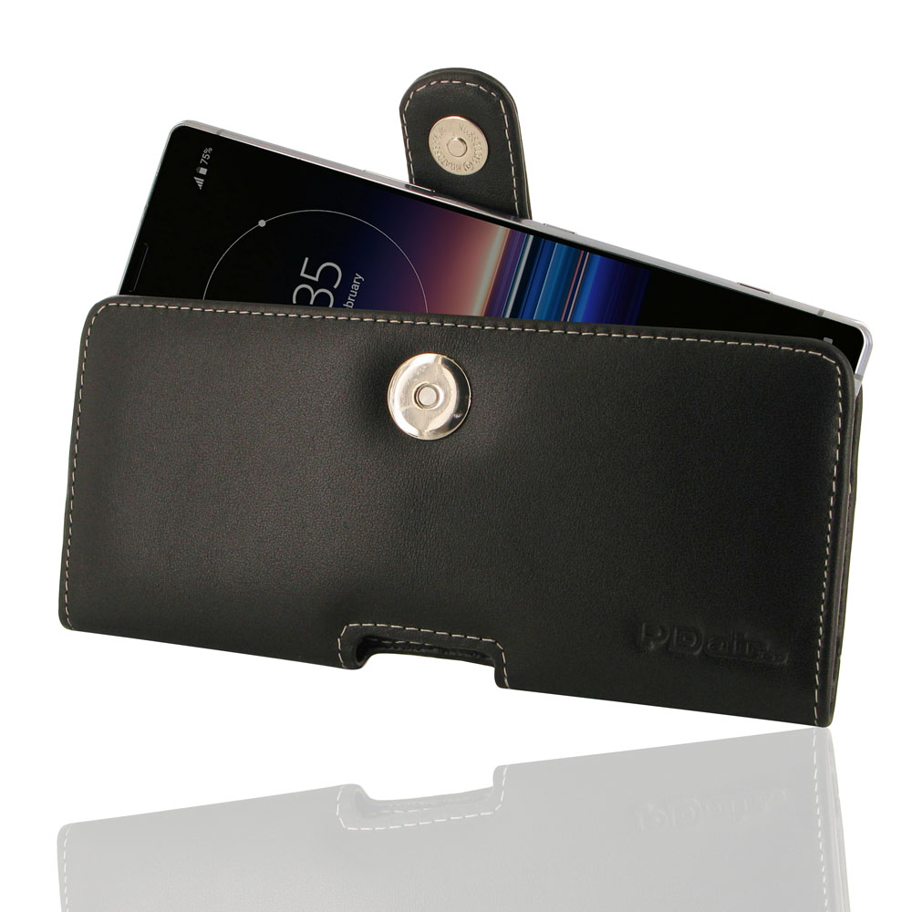 10% OFF + FREE SHIPPING, Buy the BEST PDair Handcrafted Premium Protective Carrying Sony Xperia 1 Leather Holster Case. Exquisitely designed engineered for Sony Xperia 1.