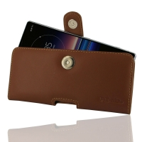 10% OFF + FREE SHIPPING, Buy the BEST PDair Handcrafted Premium Protective Carrying Sony Xperia 1 Leather Holster Case (Brown). Exquisitely designed engineered for Sony Xperia 1.