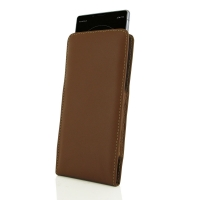 10% OFF + FREE SHIPPING, Buy the BEST PDair Handcrafted Premium Protective Carrying Sony Xperia 1 Leather Sleeve Pouch Case (Brown). Exquisitely designed engineered for Sony Xperia 1.