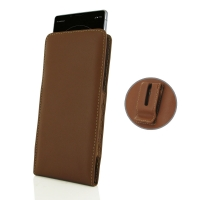 10% OFF + FREE SHIPPING, Buy the BEST PDair Handcrafted Premium Protective Carrying Sony Xperia 1 Pouch Case with Belt Clip (Brown). Exquisitely designed engineered for Sony Xperia 1.