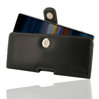 Leather Horizontal Pouch Case with Belt Clip for Sony Xperia 10 Plus