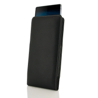 Leather Vertical Pouch Case for Sony Xperia 10 Plus