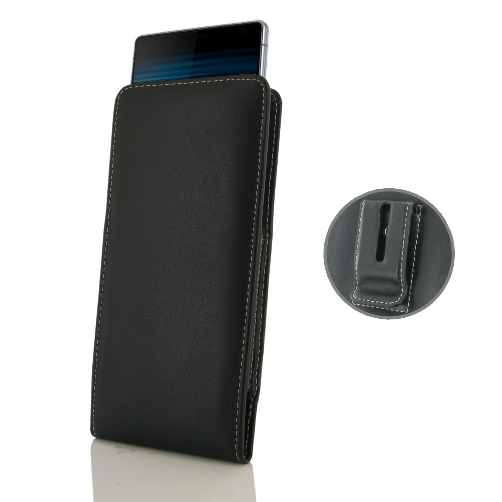 10% OFF + FREE SHIPPING, Buy the BEST PDair Handcrafted Premium Protective Carrying Sony Xperia 10 Plus Pouch Case with Belt Clip. Exquisitely designed engineered for Sony Xperia 10 Plus.