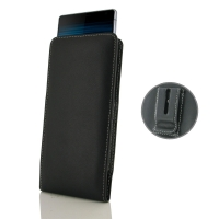 Leather Vertical Pouch Belt Clip Case for Sony Xperia 10 Plus
