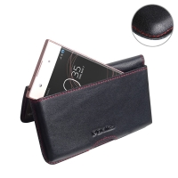 10% OFF + FREE SHIPPING, Buy the BEST PDair Handcrafted Premium Protective Carrying Sony Xperia R1 (Plus) Leather Wallet Pouch Case (Red Stitch). Exquisitely designed engineered for Sony Xperia R1 (Plus).