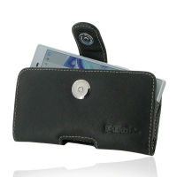 Leather Horizontal Pouch Case with Belt Clip for Sony Xperia X Compact