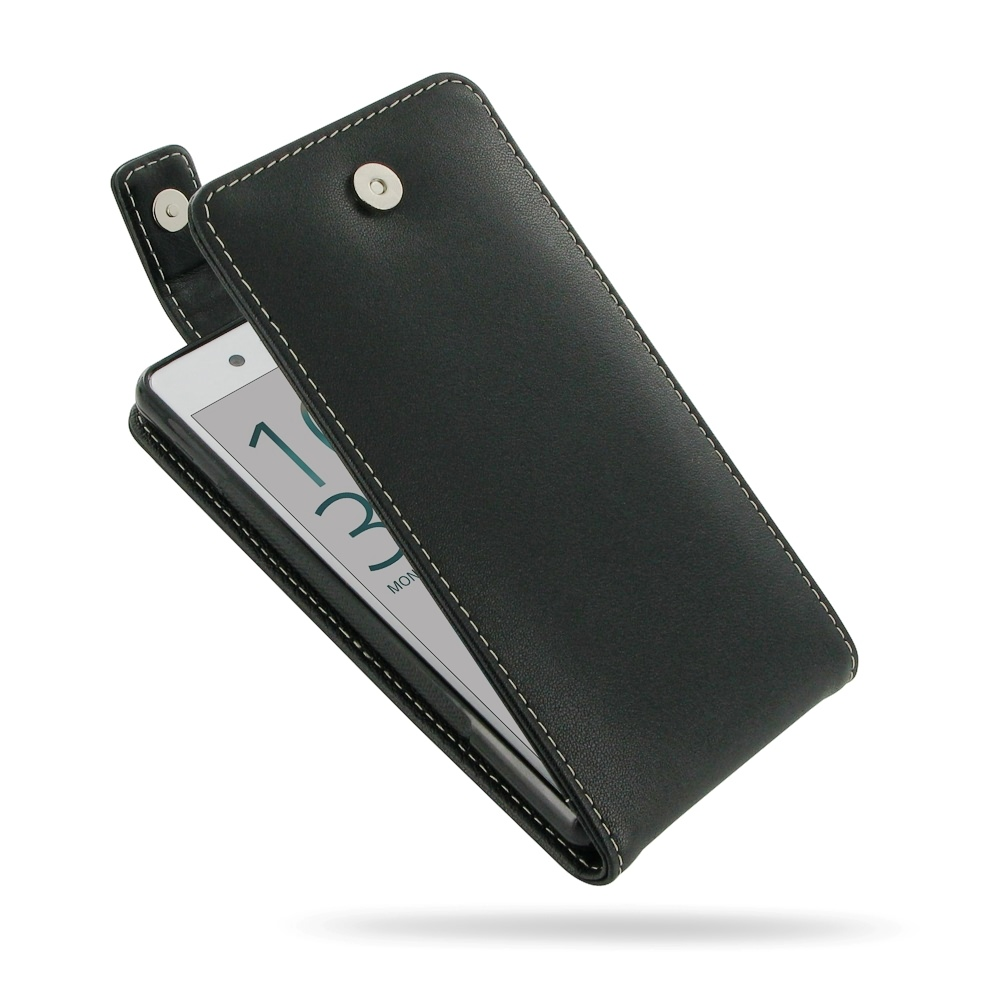 timeless design fef3a 54c86 Leather Flip Top Wallet Case for Sony Xperia X Performance Dual