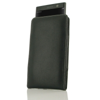 Leather Vertical Pouch Case for Sony Xperia XA2 Plus