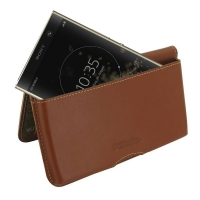 10% OFF + FREE SHIPPING, Buy the BEST PDair Handcrafted Premium Protective Carrying Sony Xperia XA2 Plus Leather Wallet Pouch Case (Brown). Exquisitely designed engineered for Sony Xperia XA2 Plus.