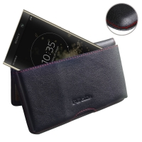 10% OFF + FREE SHIPPING, Buy the BEST PDair Handcrafted Premium Protective Carrying Sony Xperia XA2 Plus Leather Wallet Pouch Case (Red Stitch). Exquisitely designed engineered for Sony Xperia XA2 Plus.