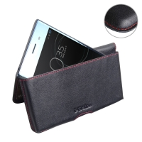 10% OFF + FREE SHIPPING, Buy Best PDair Handmade Protective Sony Xperia XZ Premium Leather Wallet Pouch Case (Red Stitch). Pouch Sleeve Holster Wallet  You also can go to the customizer to create your own stylish leather case if looking for additional col