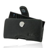 Leather Horizontal Pouch Case with Belt Clip for Sony Xperia XZ1 Compact