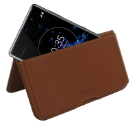 10% OFF + FREE SHIPPING, Buy the BEST PDair Handcrafted Premium Protective Carrying Sony Xperia XZ2 Premium Leather Wallet Pouch Case (Brown). Exquisitely designed engineered for Sony Xperia XZ2 Premium.