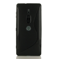 10% OFF + FREE SHIPPING, Buy the BEST PDair Premium Protective Carrying Sony Xperia XZ2 Premium Soft Case (Black S Shape pattern). Exquisitely designed engineered for Sony Xperia XZ2 Premium.