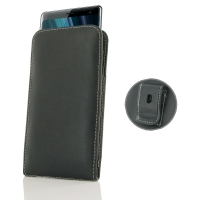 10% OFF + FREE SHIPPING, Buy the BEST PDair Handcrafted Premium Protective Carrying Sony Xperia XZ3 Pouch Case with Belt Clip. Exquisitely designed engineered for Sony Xperia XZ3.