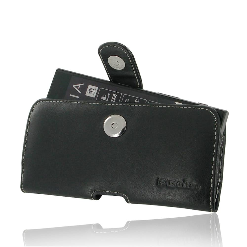 Leather Horizontal Pouch Case with Belt Clip for Sony Xperia XZs
