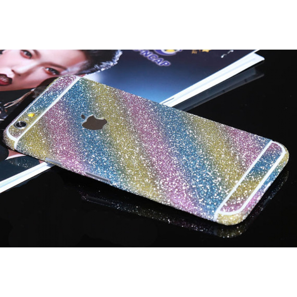 10% OFF + FREE SHIPPING, Buy PDair Top Quality Sparkle iPhone Decal Wrap Skin Set (Candies) which is available for iPhone 6 | iPhone 6s, iPhone 6 Plus | iPhone 6s Plus, iPhone 5 | iPhone 5s SE You also can go to the customizer to create your own stylish l