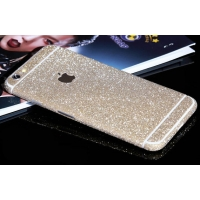 Sparkle iPhone 6s 6 Plus Decal Wrap Skin Set (Champagne)
