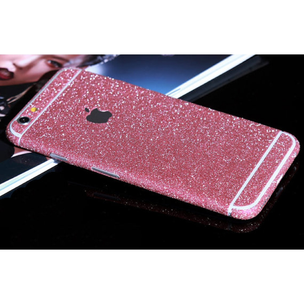 10% OFF + FREE SHIPPING, Buy PDair Sparkle iPhone Decal Wrap Skin Set (Petal Pink) which is available for iPhone 5 | iPhone 5s, iPhone 6 | iPhone 6s, iPhone 6 Plus | iPhone 6s Plus, iPhone SE. You also can go to the customizer to create your own stylish l