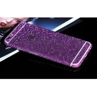 Sparkle iPhone 6s 6 Plus Decal Wrap Skin Set (Purple)