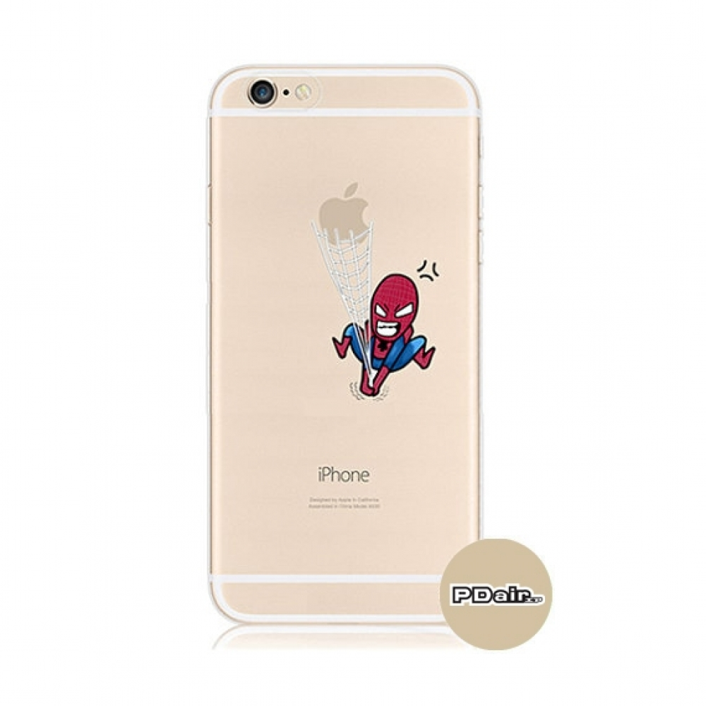 10% OFF + FREE SHIPPING, Buy PDair iPhone Pattern Printed Soft Clear Case (Spider Man) which is available for iPhone 6 | iPhone 6s, iPhone 6 Plus | iPhone 6s Plus, iPhone 5 | iPhone 5s SE. You also can go to the customizer to create your own stylish leath