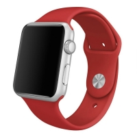 Apple Watch 42mm Sport Band Strap (Red) :: PDair