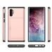 Samsung Galaxy Note 10 Plus 5G Armor Protective Case with Card Slot (Rose Gold) Wide selection of colors and patterns by PDair