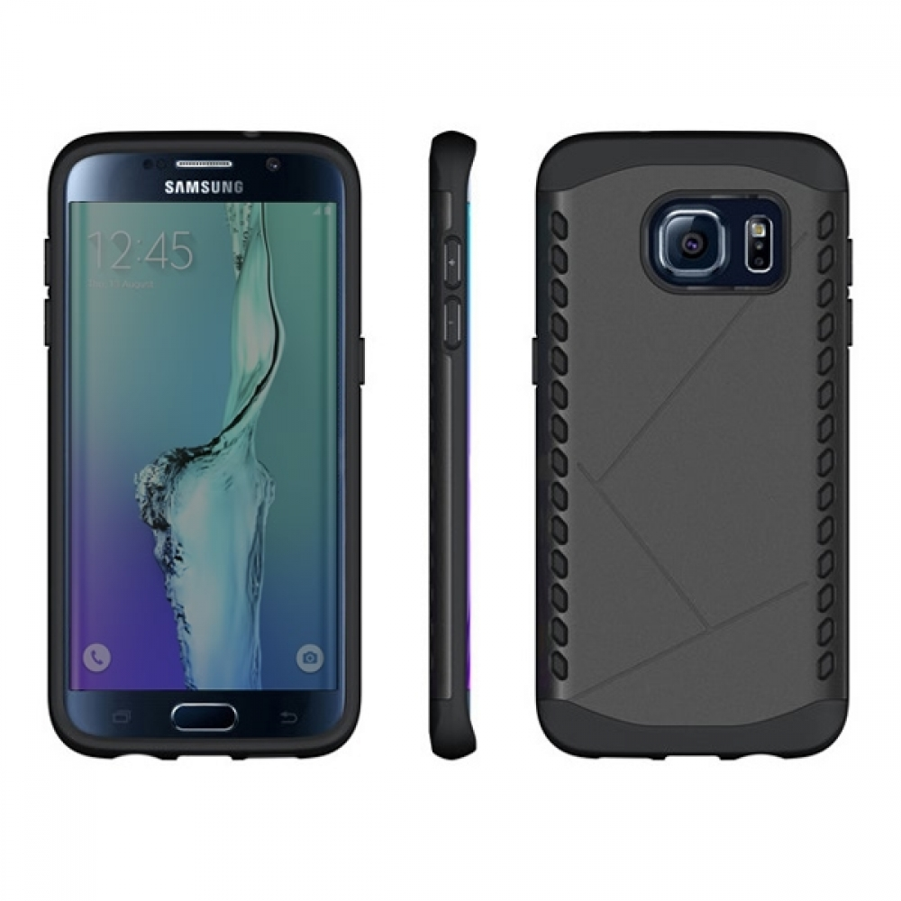 samsung galaxy s6 edge plus hybrid combo aegis armor case cover green. Black Bedroom Furniture Sets. Home Design Ideas