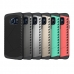 Samsung Galaxy S6 edge+ Plus Hybrid Combo Aegis Armor Case Cover Green top quality leather case by PDair