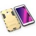 Samsung Galaxy A8 (2018) Tough Armor Protective Case (Grey) best cellphone case by PDair