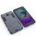 Samsung Galaxy A7 2016 Tough Armor Protective Case Grey handmade leather case by PDair
