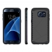 Samsung Galaxy S7 edge Hybrid Combo Aegis Armor Case Cover Grey PDair protective carrying case by PDair