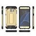Samsung Galaxy S7 edge Hybrid Dual Layer Tough Armor Case (Gold)  genuine leather case by PDair
