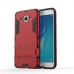Samsung Galaxy J7 (2016) Tough Armor Protective Case (Red) protective carrying case by PDair