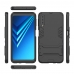 Samsung Galaxy A7 (2018) Tough Armor Protective Case (Grey) Wide selection of colors and patterns by PDair