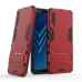 Samsung Galaxy A7 (2018) Tough Armor Protective Case (Red) custom degsined carrying case by PDair