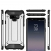 Samsung Galaxy Note 9 Hybrid Dual Layer Tough Armor Protective Case (Grey) best cellphone case by PDair