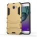 Samsung Galaxy A9 2016 Tough Armor Protective Case Gold protective carrying case by PDair