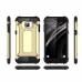 Samsung Galaxy C5 Hybrid Dual Layer Tough Armor Case (Black) genuine leather case by PDair