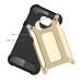 Samsung Galaxy C5 Hybrid Dual Layer Tough Armor Case (Gold) protective carrying case by PDair