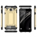 Samsung Galaxy C7 Hybrid Dual Layer Tough Armor Case (Gold) genuine leather case by PDair
