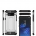 Samsung Galaxy Note8 Hybrid Dual Layer Tough Armor Protective Case (Silver) best cellphone case by PDair
