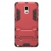 Samsung Galaxy Note 4 Tough Armor Protective Case (Red) protective carrying case by PDair