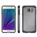 Samsung Galaxy Note 5 Hybrid Combo Aegis Armor Case Cover (Grey) protective carrying case by PDair