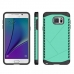 Samsung Galaxy Note 5 Hybrid Combo Aegis Armor Case Cover Green protective carrying case by PDair